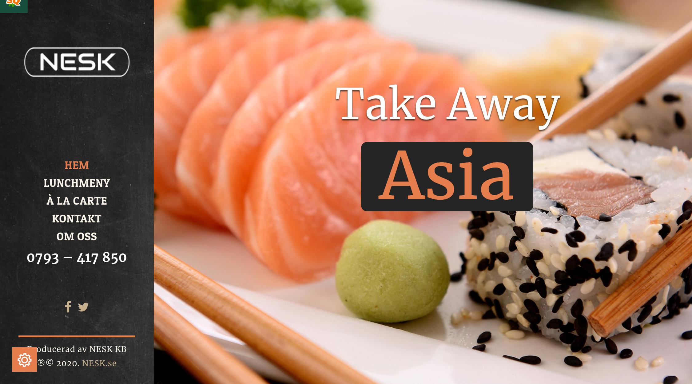 Bild på NESKs Asian-site